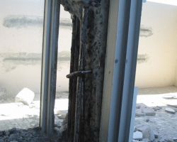 Internal Concrete Repair During